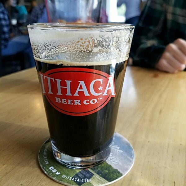 Photo taken at Ithaca Beer Co. Taproom by Philip F. on 9/24/2016
