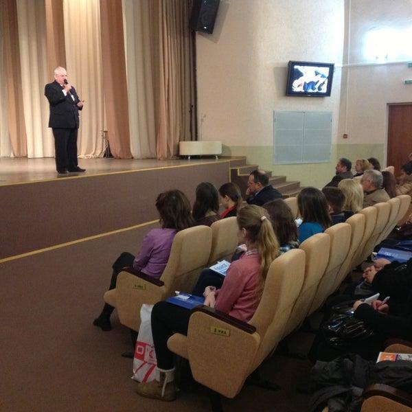 Снимок сделан в Международный университет «МИТСО» пользователем Orlanika 2/28/2013