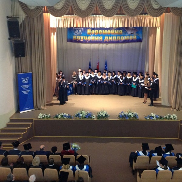 Снимок сделан в Международный университет «МИТСО» пользователем Orlanika 2/22/2013