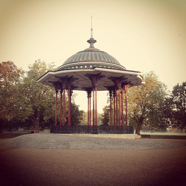 Photo taken at Clapham Common by Graeme H. on 10/14/2012
