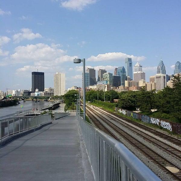 Photo taken at South Street Bridge by Shawn S. on 7/11/2015
