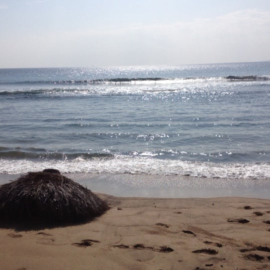 Photo taken at Pacific Ocean by Joann J. on 12/7/2012