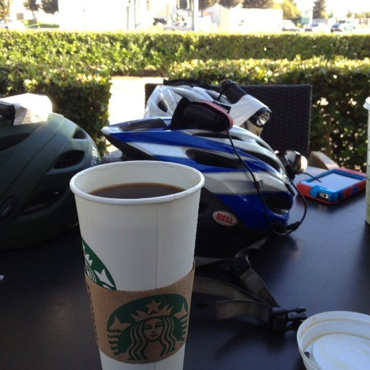 Photo taken at Starbucks by Ed on 10/14/2012