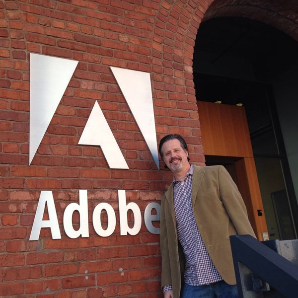 Photo taken at Adobe by James B. on 2/21/2014