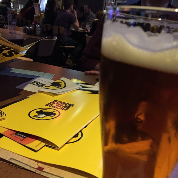 Photo taken at Buffalo Wild Wings by Kathleen V. on 4/7/2015