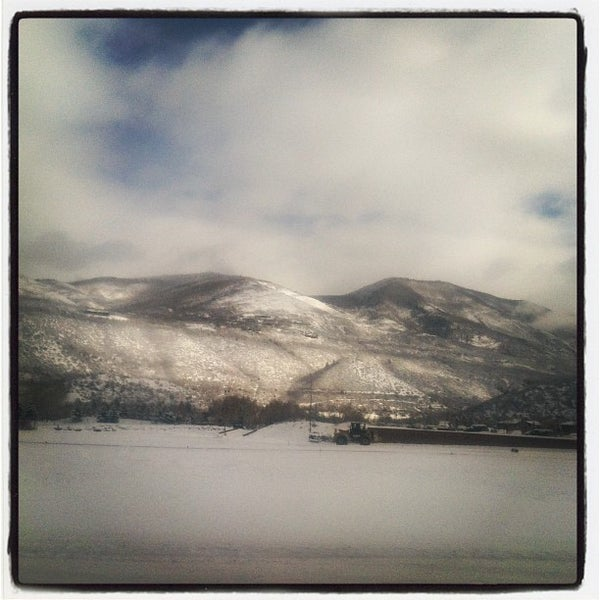 Photo taken at Aspen - Pitkin County Airport (ASE) by Sean M. on 1/31/2013