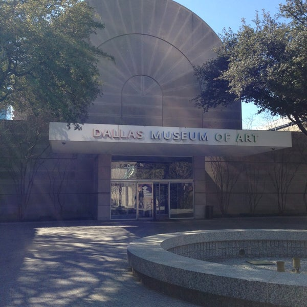 Photo taken at Dallas Museum of Art by Samantha V. on 1/21/2013