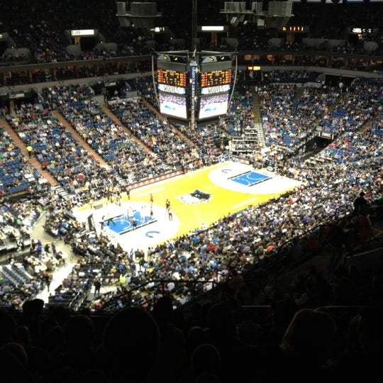 Photo taken at Target Center by Sean on 11/3/2012