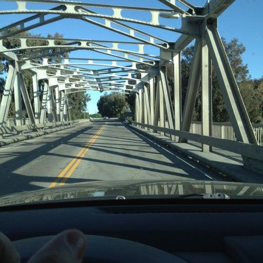 Photo taken at Rio Vista Bridge by Liz E. on 6/3/2012