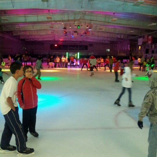 Photo taken at San Diego Ice Arena by Sur-b C. on 8/19/2012