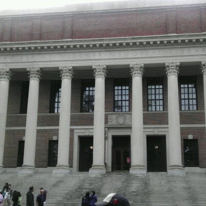 Photo taken at Widener Library by Jesse L. on 6/16/2012
