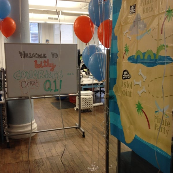 Photo taken at bitly HQ by Samantha Y. on 3/26/2014