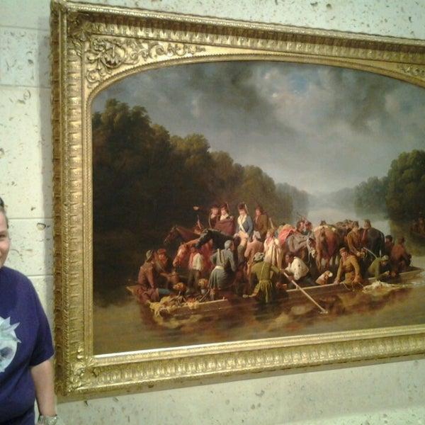 Photo taken at Amon G. Carter Jr. Exhibits Hall by Meranda C. on 9/1/2013