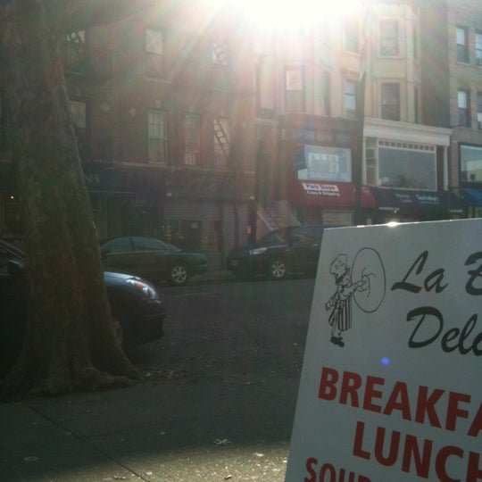 Photo taken at La Bagel Delight by Jason M. on 11/11/2012