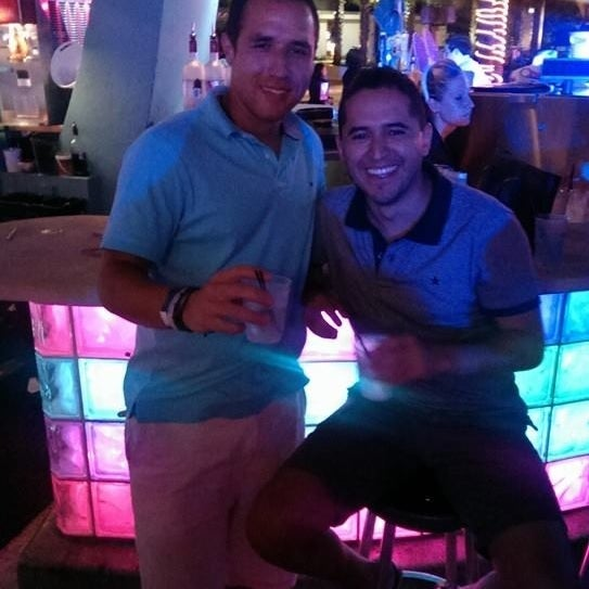 Photo taken at Clevelander by JUAN P M. on 4/22/2014