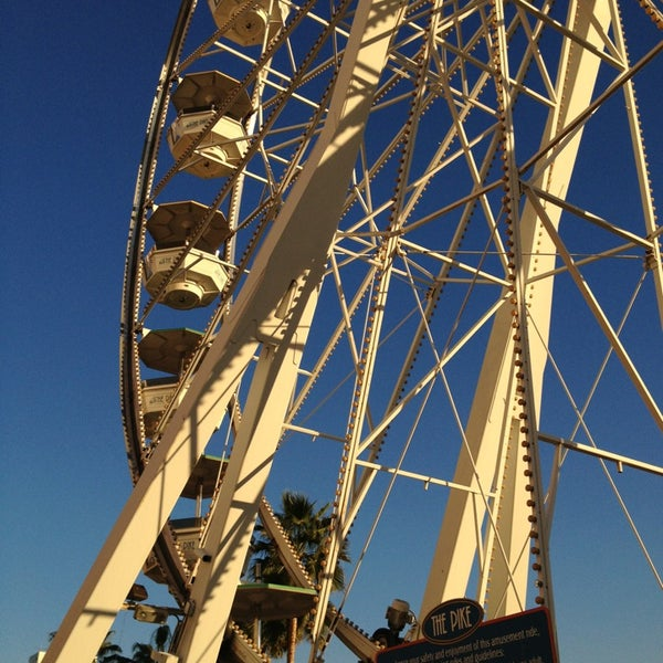 Photo taken at Ferris Wheel At The Pike by Elleen on 1/4/2013