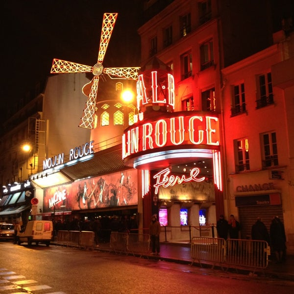 Photo taken at Moulin Rouge by Stefano P. on 2/26/2013