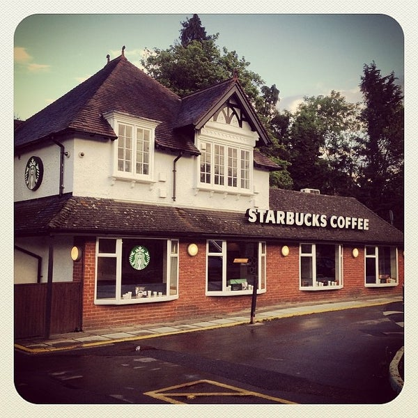 Starbucks Coffee Shop In Merstham