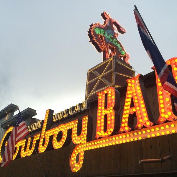 Photo taken at Million Dollar Cowboy Bar by Susan W. on 6/17/2014