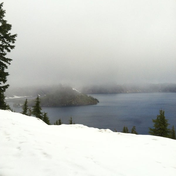 Photo taken at Crater Lake National Park by $erena on 5/26/2013