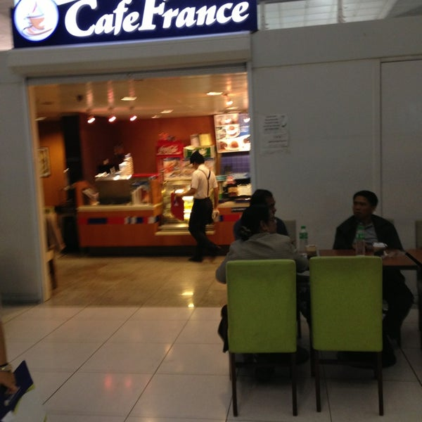 Photo taken at Cafe France by Mikhail S. on 2/7/2013