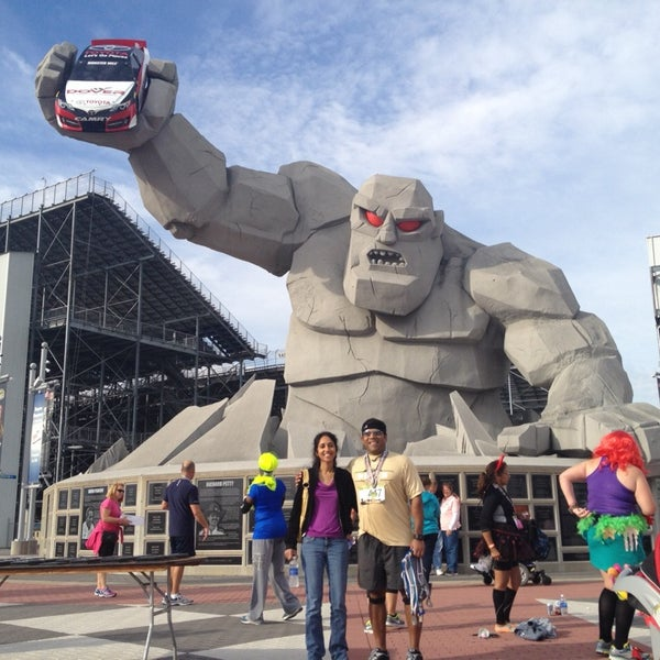 Photo taken at Dover International Speedway by Aravind M. on 10/19/2013