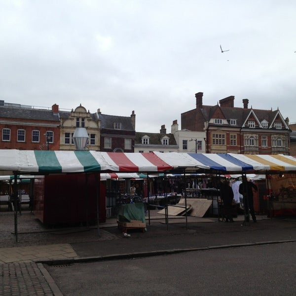 Photo taken at Cambridge Market by Emre on 1/7/2013