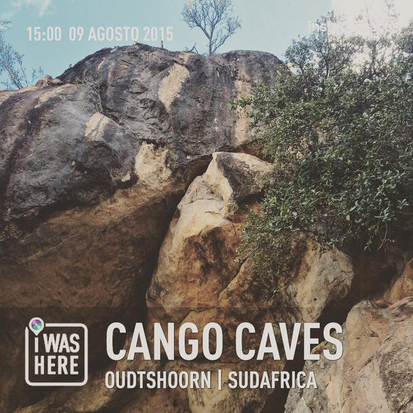 Photo taken at Cango caves by Claudio P. on 8/9/2015
