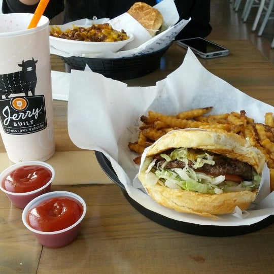 Jerry Built Homegrown Burgers - Burger Joint in Braeswood ...