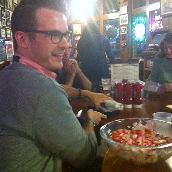 Photo taken at Manuel's Tavern by Benjamin C. on 10/9/2013