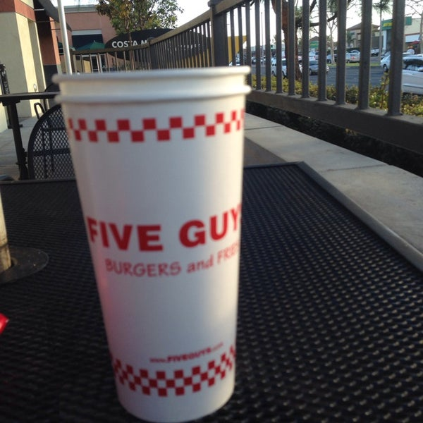 Photo taken at Five Guys by Anoud on 2/27/2014