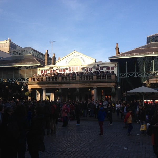 Photo taken at Covent Garden Market by Edda C. on 3/8/2014