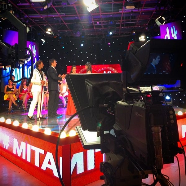Photo taken at Multimedios Televisión by Gilberto D. on 7/3/2014