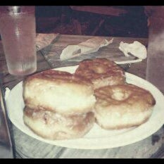 Photo taken at Donut Dinette by Tina D. on 10/9/2011