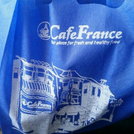 Photo taken at Cafe France by Oscar P. on 7/3/2015