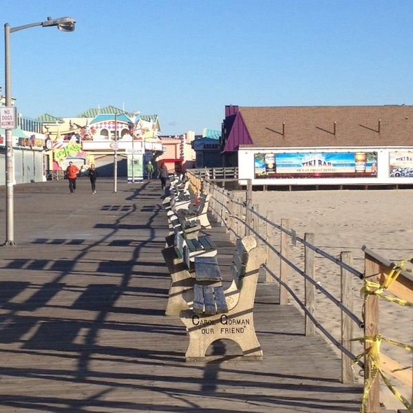 Photo taken at Point Pleasant Beach Boardwalk by Michael P. on 11/28/2013