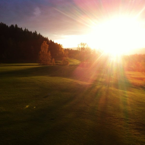 Photo taken at Ypsilon Golf Resort Liberec by Jan J. on 10/29/2013