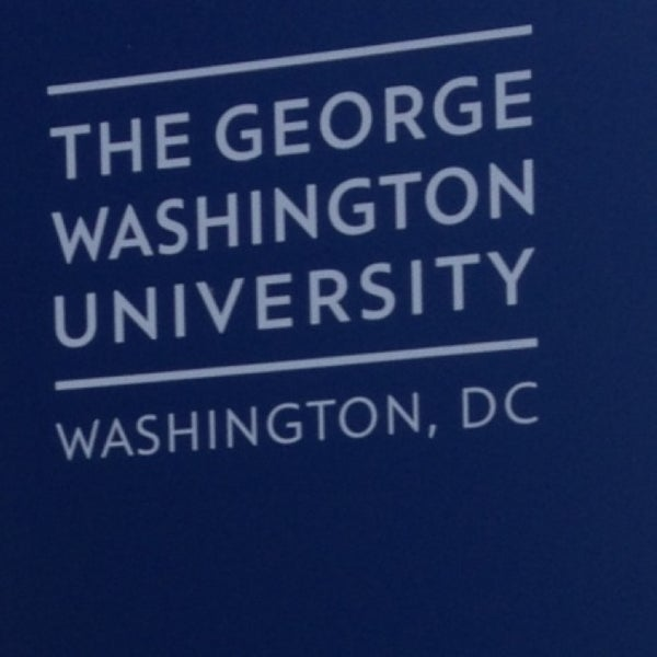 Photo taken at The George Washington University by Yusa on 1/19/2013