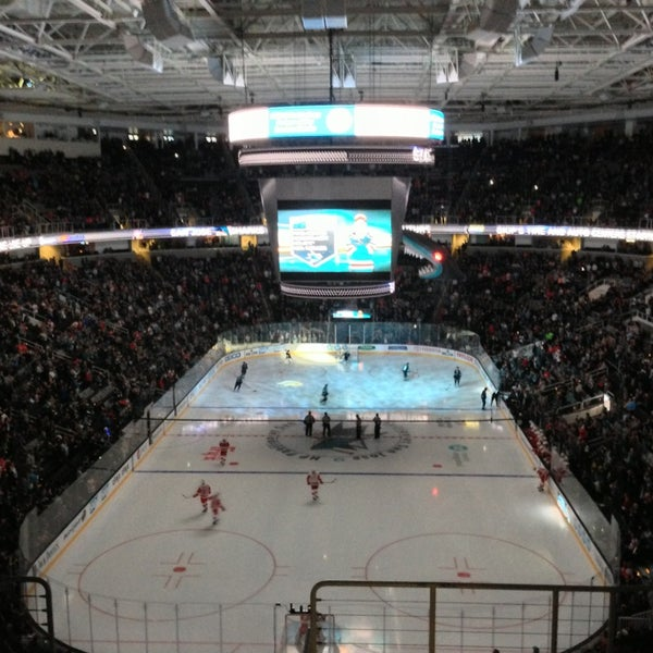Photo taken at SAP Center at San Jose by David on 3/29/2013