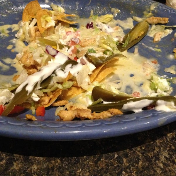 I know it's gross to take a pic of left over food but holy moly,  these Nachos are the best I've had. And my friend Greg agrees.  Superior tex mex butwith a uniqueness!   Who knew???  In Toledo!