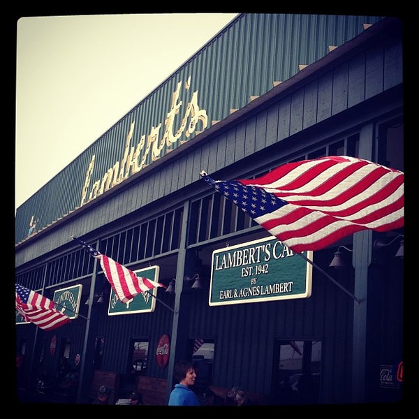 Photo taken at Lambert's Cafe by Kelly on 3/23/2013