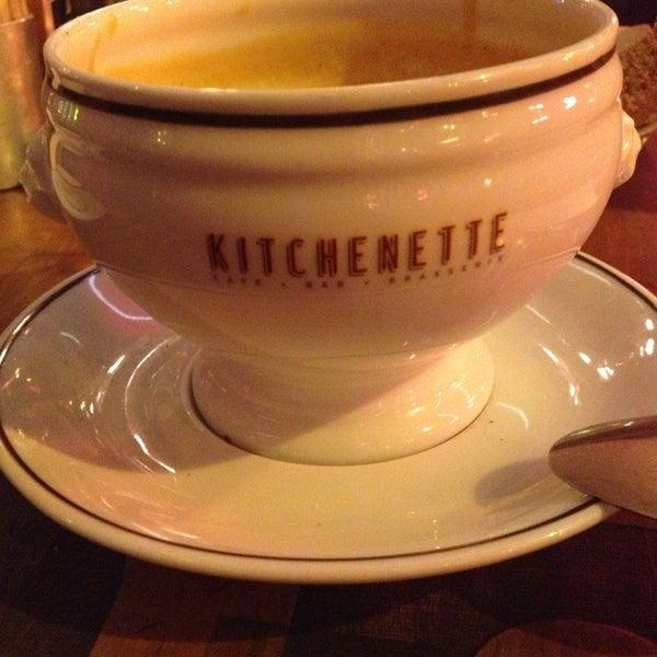 Photo taken at Kitchenette by Özen on 2/18/2013