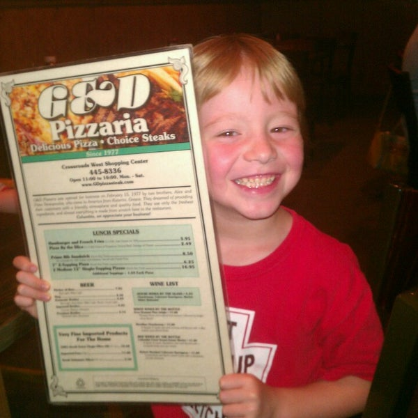 Photo taken at G & D Pizzaria by Greg L. on 6/4/2013