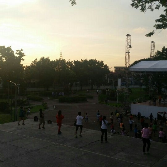 Photo taken at Maria Cristina Park by Arnie Joy G. on 7/29/2015