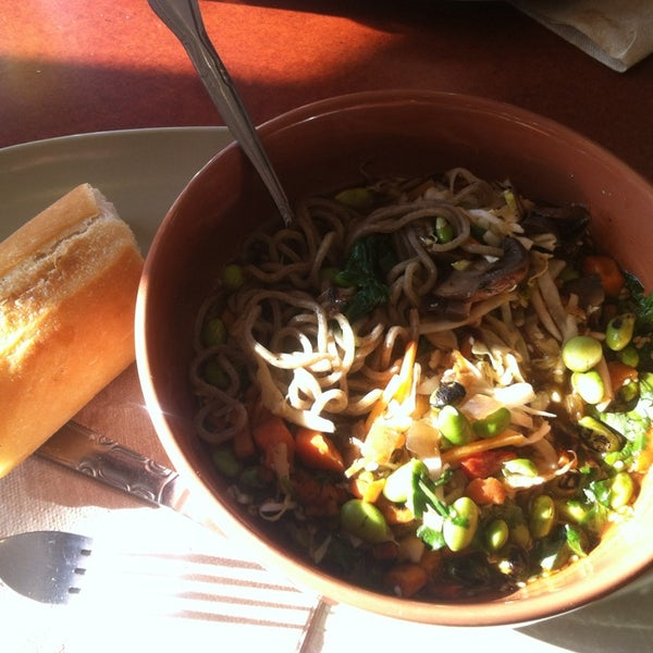 Photo taken at Panera Bread by Stephanie G. on 2/14/2015