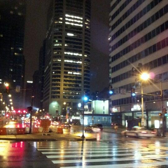 Photo taken at SEPTA MFL/TRL 15th Street Station by Yon F. on 12/8/2012