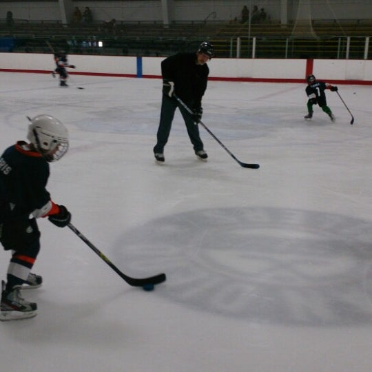 Photo taken at San Diego Ice Arena by Nikos on 6/6/2014