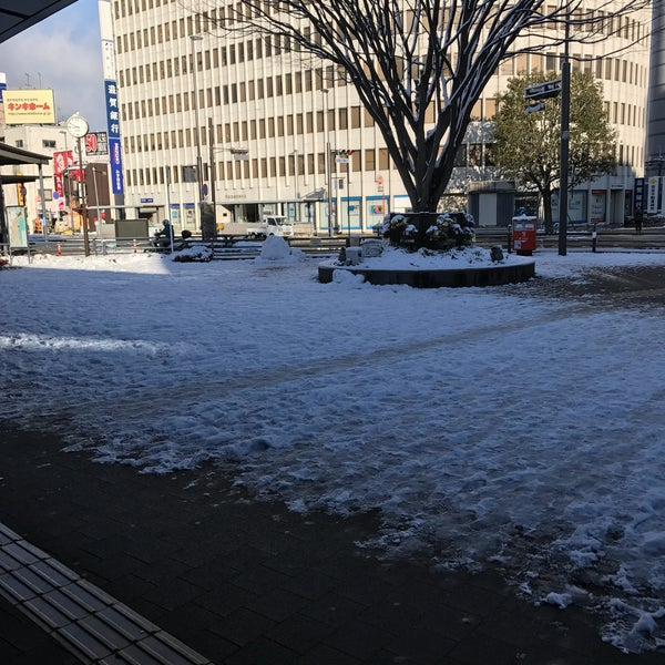 Photo taken at Ōtsu Station by agora_sky on 1/15/2017