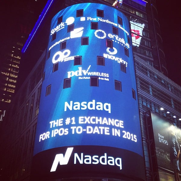 Photo taken at Nasdaq by Wiafe M. on 4/6/2015