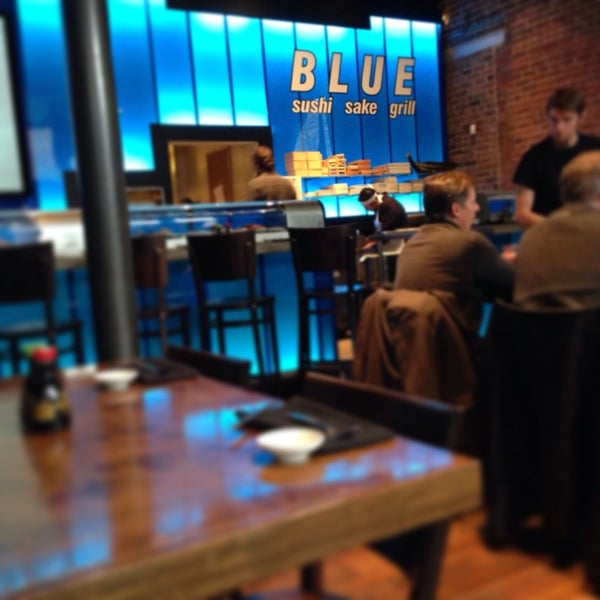 Photo taken at Blue Sushi Sake Grill by David on 12/4/2013